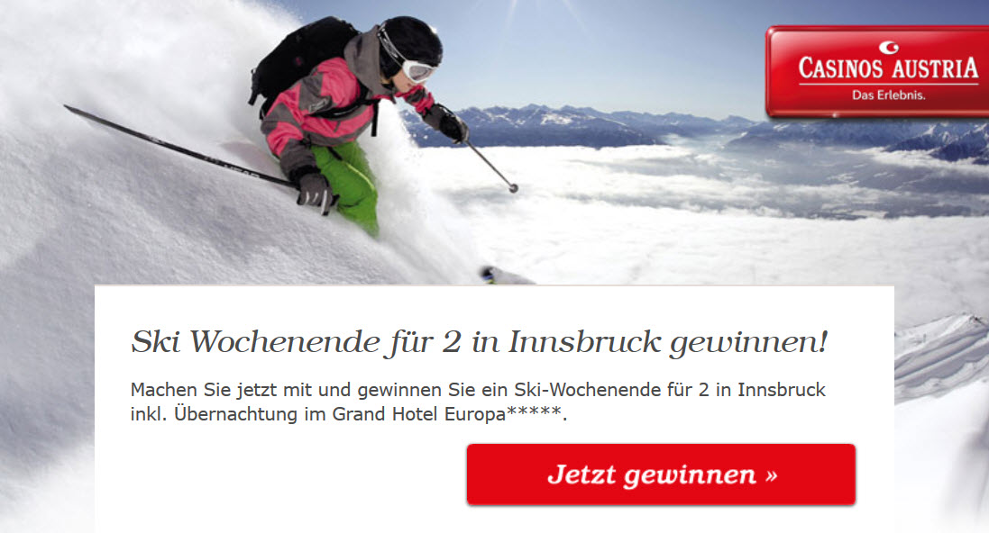 Casino Gutscheine Innsbruck