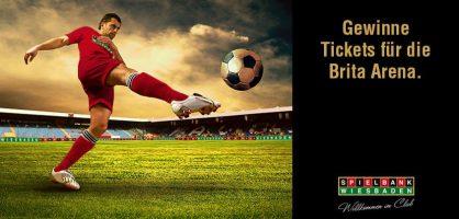Spielbank Wiesbaden verlost Fußball-Tickets