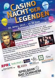"""""""Nacht der Legenden"""" im Casino Bad Dürkheim"""