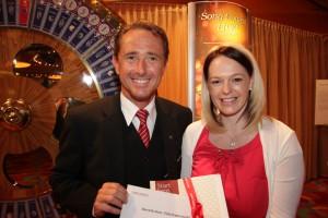 Casino Velden: Oberösterreicherin gewinnt VIP-ESC-Wochenende
