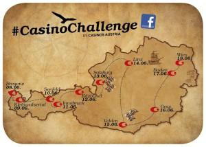 Casinos Austria starten #CasinoChallenge