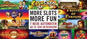 7 neue Automaten im Grand Casino Luzern