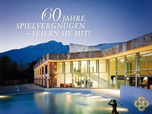 Spielbank Bad Reichenhall feiert ihren 60. Geburtstag