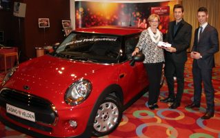 Casino Velden: Klagenfurterin gewinnt MINI One First
