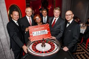 15.000 Euro Spenden bei Charity Gala im Casino Wien