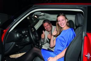 Innsbruckerin gewinnt MINI One First im Casino Seefeld