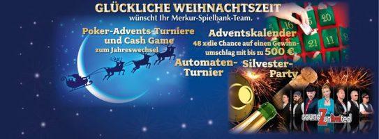 Weihnachtszeit in der Merkur Spielbank Leuna–Günthersdorf
