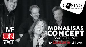 25. Juni: MonaLisas Concept im CASINO Schenefeld