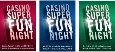 Den ganzen Juni: Casino Super Fun Nächte im Grand Casino Luzern