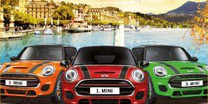 Grand Casino Luzern: 3 Mini Cooper beim Indian Summer Jackpot
