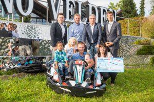 Casino Velden: 9.000 Euro beim Charity-Go-Kart-Cup