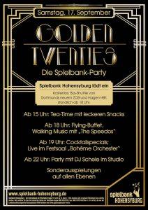 Spielbank Hohensyburg feiert die Goldenen Zwanziger
