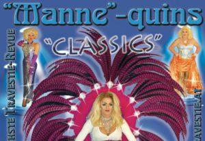 """Travestie Revue The """"Manne""""quins im Casino Kitzbühel"""
