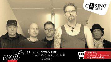 10. Dezember: Rock'n Roll mit Ditchy Zipp im Casino Lübeck