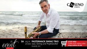 5. November: Pasternack Swing Trio im Casino Lübeck