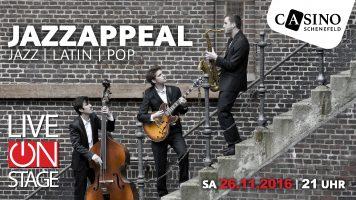 "26. November: ""Jazz Appeal"" im Casino Schenefeld"
