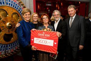 Casino Wien: Charity Gala bringt 15.000 Euro für Licht ins Dunkel