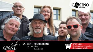 28. Januar: Westernhagen-Cover Pfefferminz im Casino Lübeck