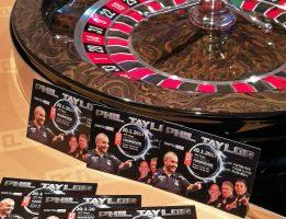 """Spielbank Hannover verlost Karten für Phil """"The Power"""" Taylor"""