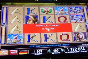 SpielbankBad Harzburg: €20.000 bei Egypt Quest & Multiroulette