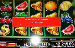 Spielbank Bad Harzburg: Egypt Quest Jackpot bringt mehr als €12.000