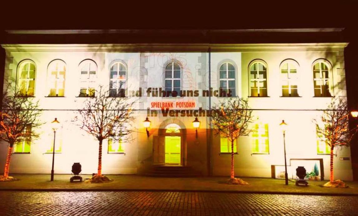 Spielbank Potsdam Beteiligt Sich An Unterwegs Im Licht