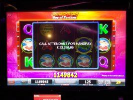 Spielbank Hannover: 3 Automaten, 3 Männer, 3 Auszahlungen