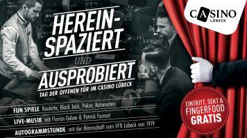 21. Mai: Tag der offenen Tür im Casino Lübeck