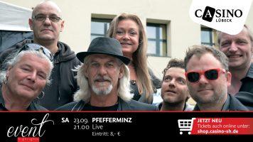 """23. September: """"Pfefferminz"""" – Westernhagen Cover im Casino Lübeck"""