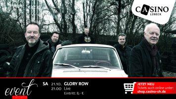21. Oktober: Rock-Klassiker mit Glory Row im Casino Lübeck