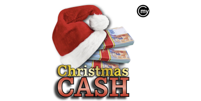 1. bis 17. Dezember: Christmas Cash Aktion im Grand Casino Luzern
