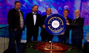 Spielbank Bad Reichenhall: Spendenübergabe nach Sport Gala