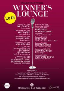 Spielbank Bad Wiessee: Winner's Lounge 2018