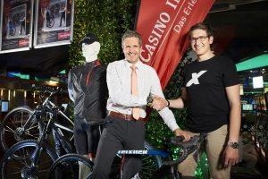 Casino Innsbruck: Cube E-Bikes von Radsport Steixner zu gewinnen