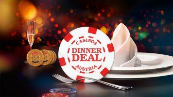 """""""Dinner Deal"""" im Casino Innsbruck"""