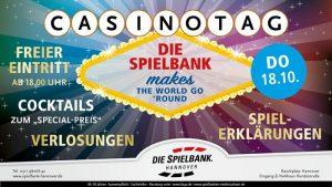Großer Casinotag in der Spielbank Hannover
