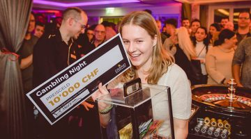 Casino Schaffhausen: 19-jährige Besucherin der Gambling Night gewinnt 10.000 Franken