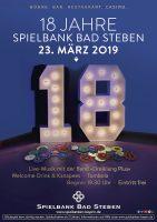 """Spielbank wird """"Volljährig"""": Spielbank Bad Steben feiert 18. Geburtstag"""