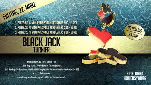 Dortmund lädt zum Black Jack Turnier