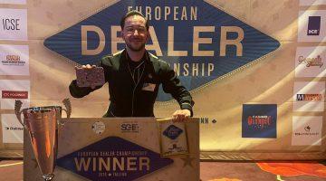 Croupier aus dem Casino Pfäffikon gewinnt European Dealer Championship