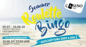 Casino Kiel: Die letzten Chancen beim Roulette Bingo