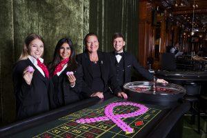 Große Pink Ribbon Aktion in den Casinos bringt 10.000 Euro für die Österreichische Krebshilfe