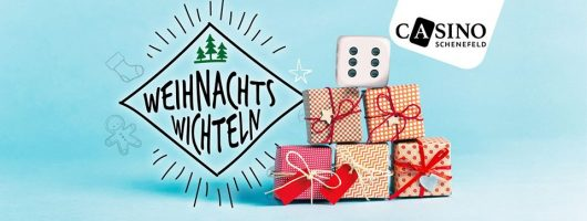Weihnachtswichteln und Mystery Adventkalender im Casino Schenefeld