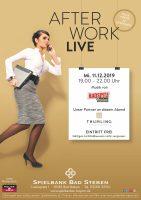 Spielbank Bad Steben: After Work Live Event mit Radspitz unplugged