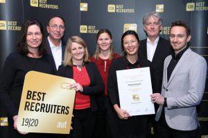 """Gold für Österreichische Lotterien als """"Best Recruiter"""""""