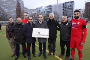 Spielbank Berlin unterstützt türkischen Fußballverein Türkiyemspor Berlin