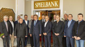 Mitarbeiter-Ehrung der Spielbanken Bad Neuenahr und Bad Dürkheim