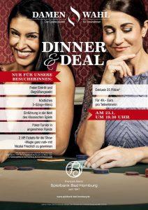 Spielbank Bad Homburg: Damenwahl - Dinner & Deal