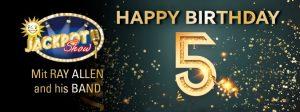 Merkur Spielbank Leuna-Günthersdorf feiert ihren 5. Geburtstag