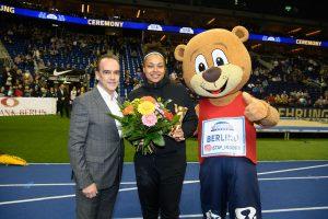 Sportförderer Spielbank Berlin erneut Hauptsponsor des 7. ISTAF-Indoor in Berlin: Leichtathletikspektakel mit Besucherrekord